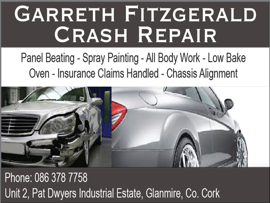Garrett Fitzgerald Crash Repair